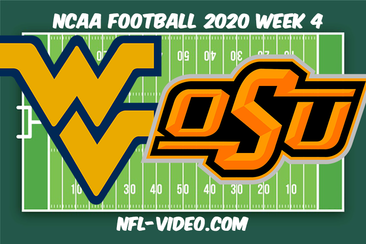 West Virginia vs Oklahoma State Football Full Game & Highlights 2020 College Football Week 4