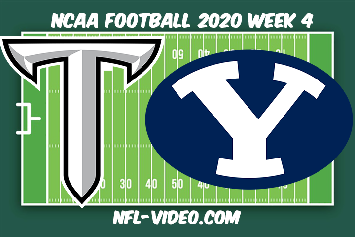 Troy vs BYU Football Full Game & Highlights 2020 College Football Week 4