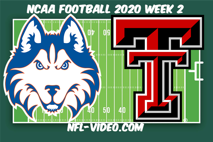 Houston vs Texas Tech Football Full Game & Highlights 2020 College Football Week 2
