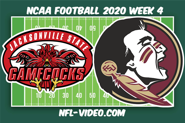 Jacksonville State vs Florida State Football Full Game & Highlights 2020 College Football Week 5