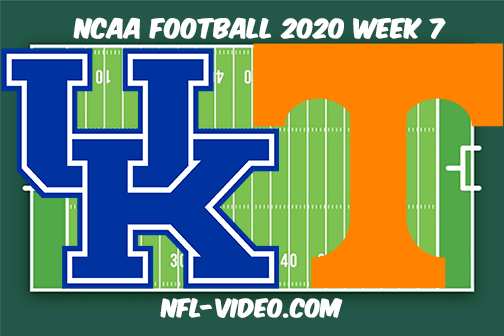 Kentucky vs Tennessee Football Full Game & Highlights 2020 College Football Week 7