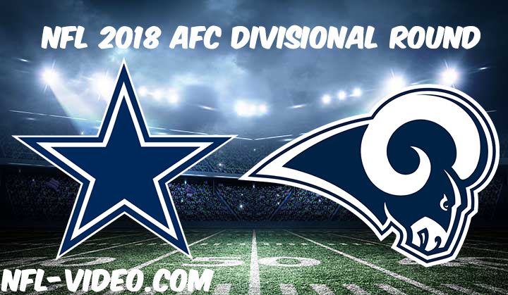 NFL 2018 Divisional Round Game Replay & Highlights - Dallas Cowboys vs Los Angeles Rams