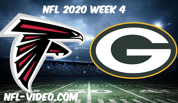 Atlanta Falcons vs Green Bay Packers Full Game & Highlights NFL 2020 Week 4