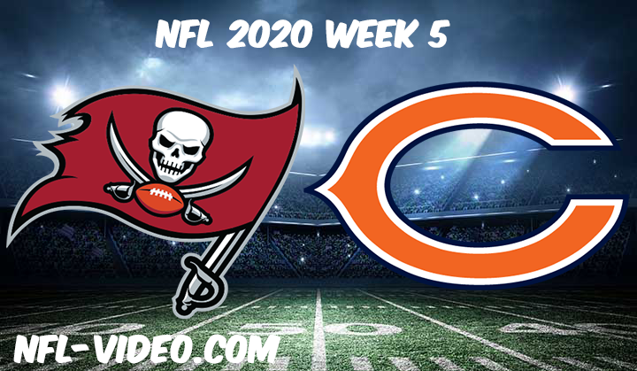 Tampa Bay Buccaneers vs Chicago Bears Full Game & Highlights NFL 2020 Week 5
