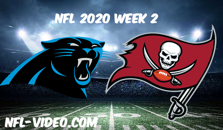 Carolina Panthers vs Tampa Bay Buccaneers Full Game & Highlights NFL 2020 Week 2