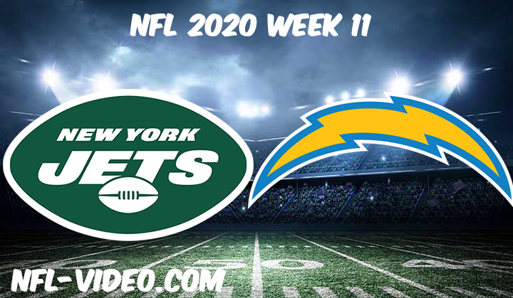 New York Jets vs Los Angeles Chargers Full Game & Highlights NFL 2020 Week 11