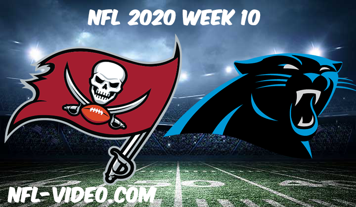 Tampa Bay Buccaneers vs Carolina Panthers Full Game & Highlights NFL 2020 Week 10