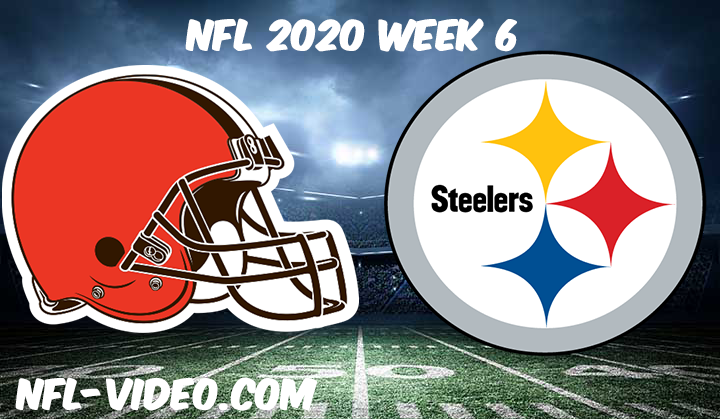 Cleveland Browns vs Pittsburgh Steelers Full Game & Highlights NFL 2020 Week 6
