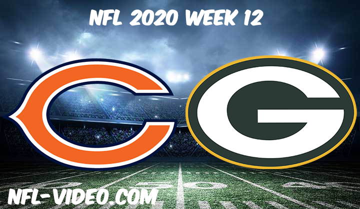 Chicago Bears vs Green Bay Packers Full Game & Highlights NFL 2020 Week 12