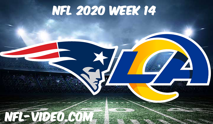 New England Patriots vs Los Angeles Rams Full Game & Highlights NFL 2020 Week 14
