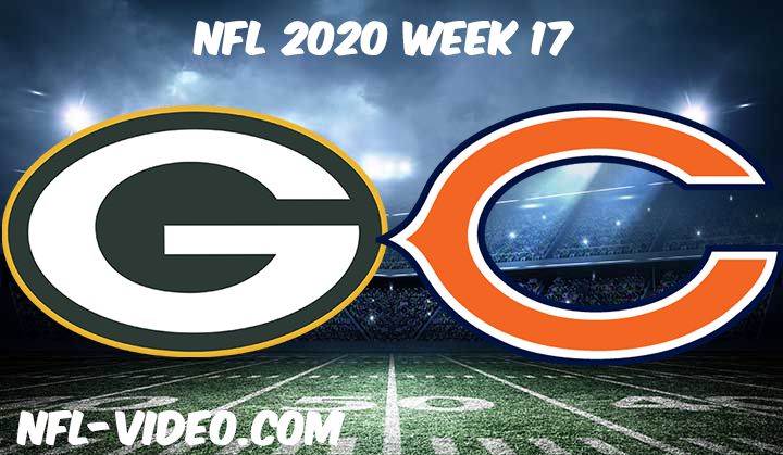 Green Bay Packers vs Chicago Bears Full Game Replay & Highlights NFL 2020 Week 17